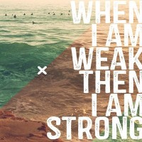 Weakness and shining lights…