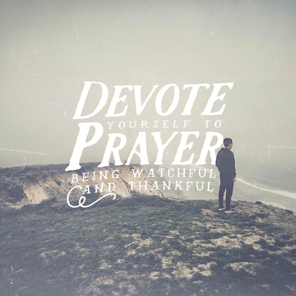 Prayer meditation and the devotional attitude
