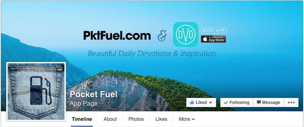 Pocketfuel Facebook Cover - Desktop