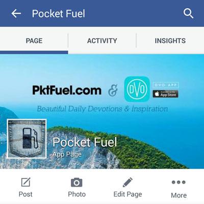Pocketfuel Mobile Facebook Cover