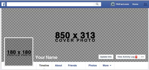 Free Facebook Cover Template Tutorial Pktfuel